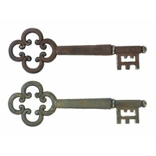 Magical Key Wall Décor (Set of 2)