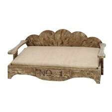 <strong>Woodland Imports</strong> Vintage Couch Dog Bed