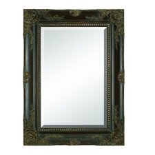 Wooden Beveled Mirror