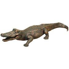 Alligator Garden Statue