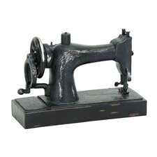 Industrial Age Décor Sewing Machine