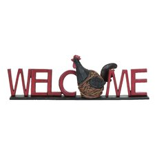Garden Hen Welcome Garden Sign