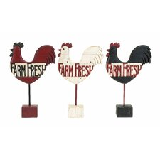 Assorted Kitchen Rooster Farm Fresh Garden Signs