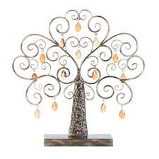 <strong>Woodland Imports</strong> Metal Tree Figurine