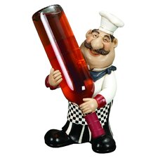 Chef 1 Bottle Tabletop Wine Holder