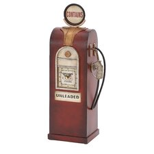 Metal Gas Pump Figurine
