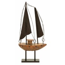 Décor Nautical Sail Model Boat