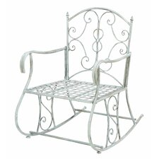 Outdoor Rocking Arm Chair