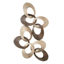 Intertwined Ovals Wall Décor