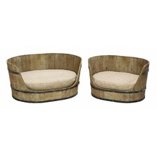 <strong>Woodland Imports</strong> 2 piece Dog Chair Set