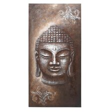 <strong>Woodland Imports</strong> Buddha Canvas Wall Art
