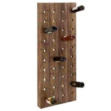 <strong>Woodland Imports</strong> 40 Bottle Wall Mounted Wine Rack