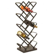 14 Bottle Tabletop Wine Rack
