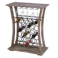 <strong>Woodland Imports</strong> 26 Bottle Wine Rack