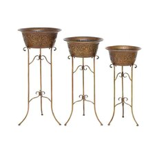 Metal Planters (Set of 3)