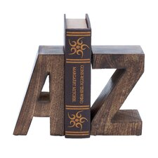 Wood Bookends (Set of 2)