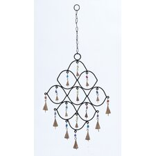 <strong>Woodland Imports</strong> Metal Bead Wind Chime