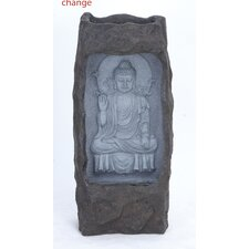 Fiber Glass Buddha Fountain