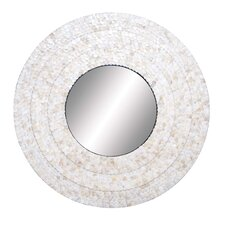 Inlay Circular Wall Mirror