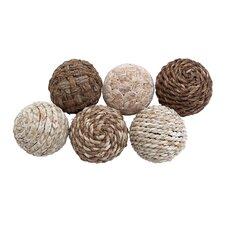 Decorative 6 Piece Ball Set