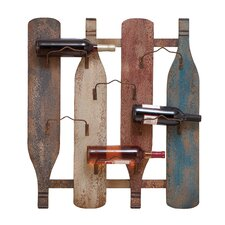 <strong>Woodland Imports</strong> 6 Bottle Wall Mount Wine Rack