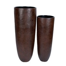 <strong>Woodland Imports</strong> 2 Piece Vase Set