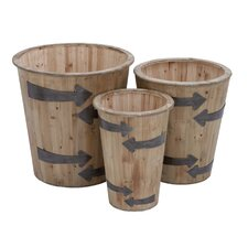 Round Planter (Set of 3)