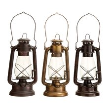 <strong>Woodland Imports</strong> Lantern Assorted in Classical Style (Set of 3)