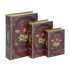 <strong>Woodland Imports</strong> Book Box (Set of 3)