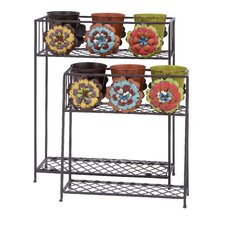 Rectangular Planter Stand (Set of 2)