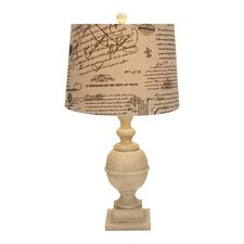 "59"" H Beautiful Resin Table Lamp"