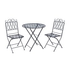 <strong>Woodland Imports</strong> 3 Piece Bistro Set