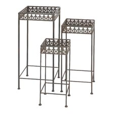 Square Planter Stand (Set of 3)