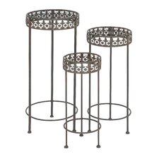 Round Planter Stand (Set of 3)