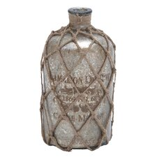 <strong>Woodland Imports</strong> Jute Decorative Bottle