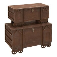 Superior Grade Wooden Trunk