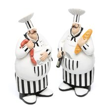 Polystone Chef (Set of 2)