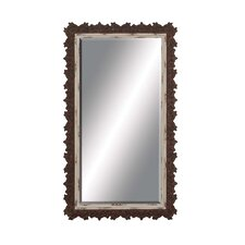 Jagged Edged Border Wall Mirror