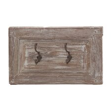 Rustic Wood and Metal Hooks