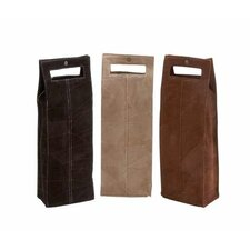 <strong>Woodland Imports</strong> Liverpool Single Bottle Wine Tote (Set of 3)