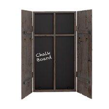 "Wood 3' 7"" x 2' Chalkboard"