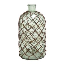 Contemporary Art Netted Decorative Bottle