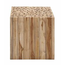Square Shaped Wooden Klaten Stool