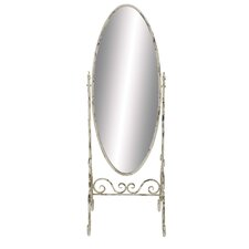 <strong>Woodland Imports</strong> Classic Metal Floor Mirror