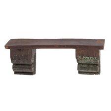 Antique Reclaimed Wood Wall Shelf