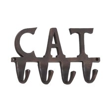 "Aluminum ""Cat"" Wall Hook"