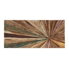 Wooden Abstract Wall Decor