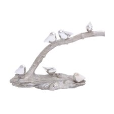 Polystone Showpiece Birds on Branch