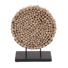 Round Shaped Klaten Stand Sculpture