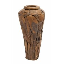<strong>Woodland Imports</strong> Ring Stand Decor Vase